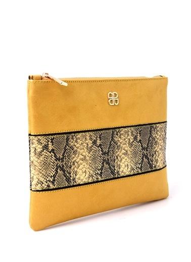 Derimod Kadın Portföy(2900) Smart Sarı